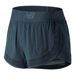 Women`s Transform 2 In 1 Tennis Short Light Petrol