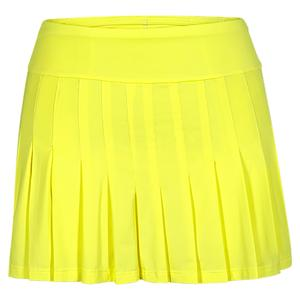 Women`s Jillian Tennis Skort Lemon Tonic