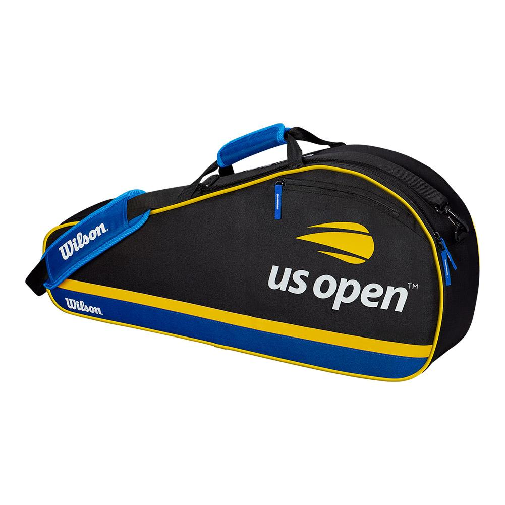 Us Open 3 Pack Tennis Bag Black And Blue
