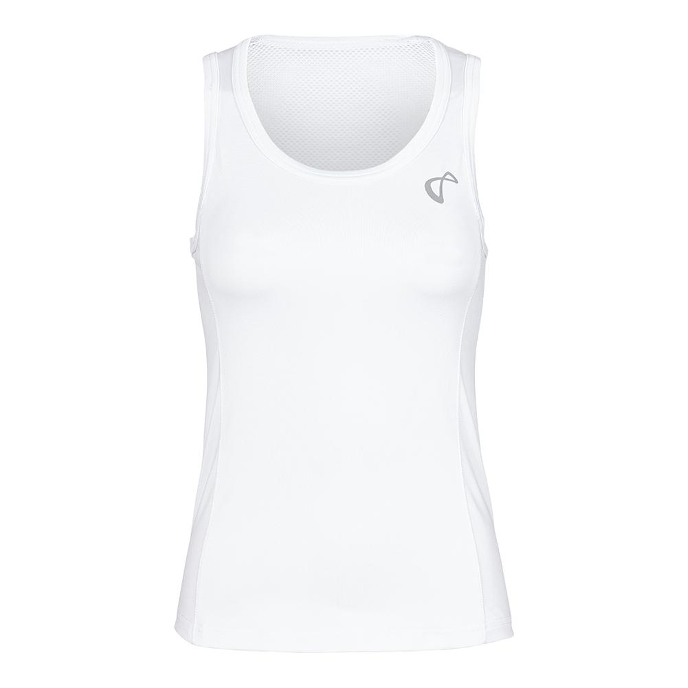 Girls ` Breeze Tennis Tank White