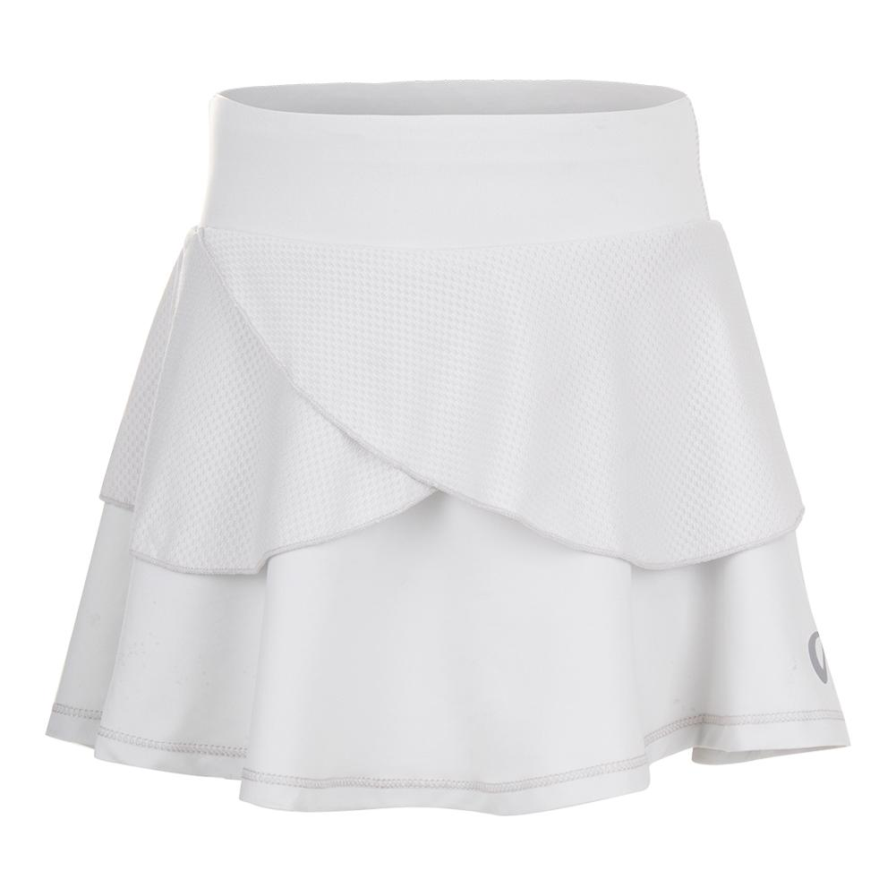 Girls ` Tennis Skort Glacier