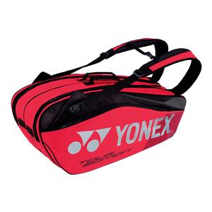 Pro 6 Pack Tennis Bag Flame Red