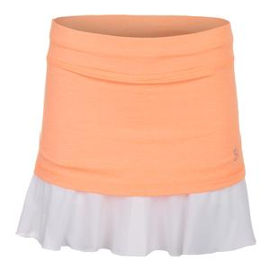 Women`s Love 14 Inch Tennis Skort Peachy