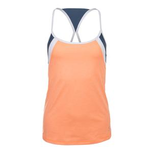 Women`s Gold Tennis Cami Peachy