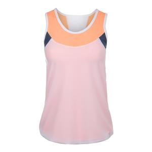 Women`s Flow Tennis Tank White