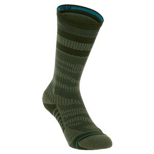 Men`s Training Uncommon Solids Crew Socks Olive