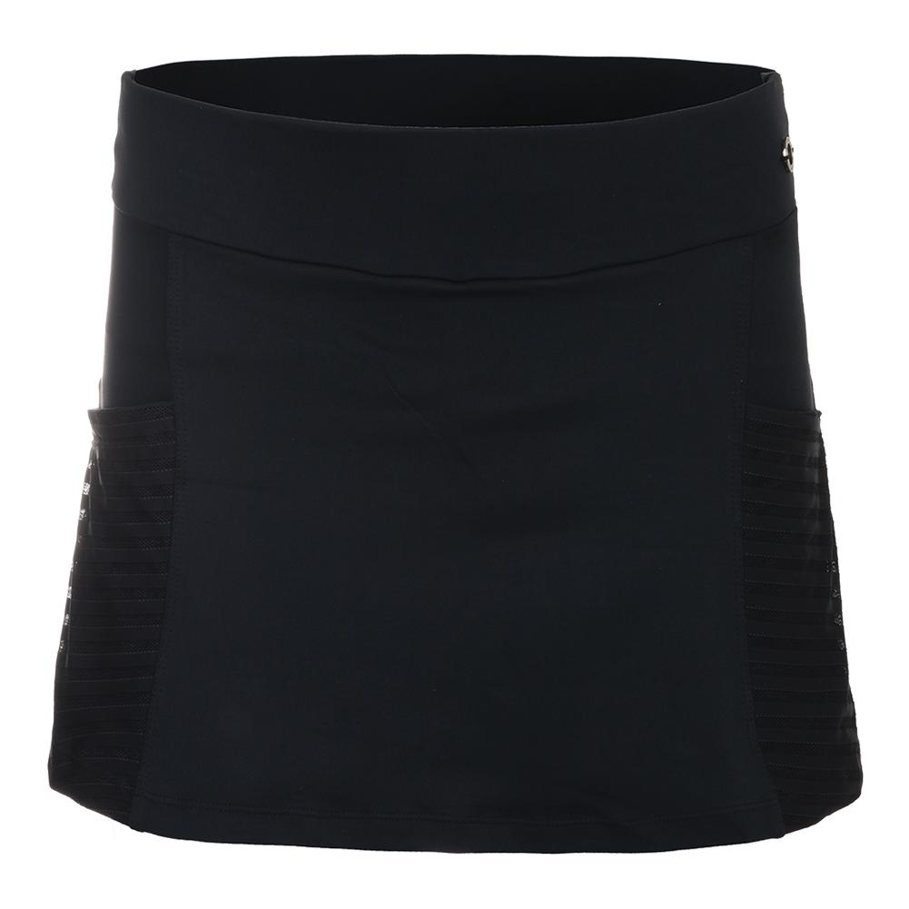 Women's Equinox Tennis Skirt Black