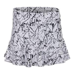 Women`s Love Me Full Tennis Skirt Print