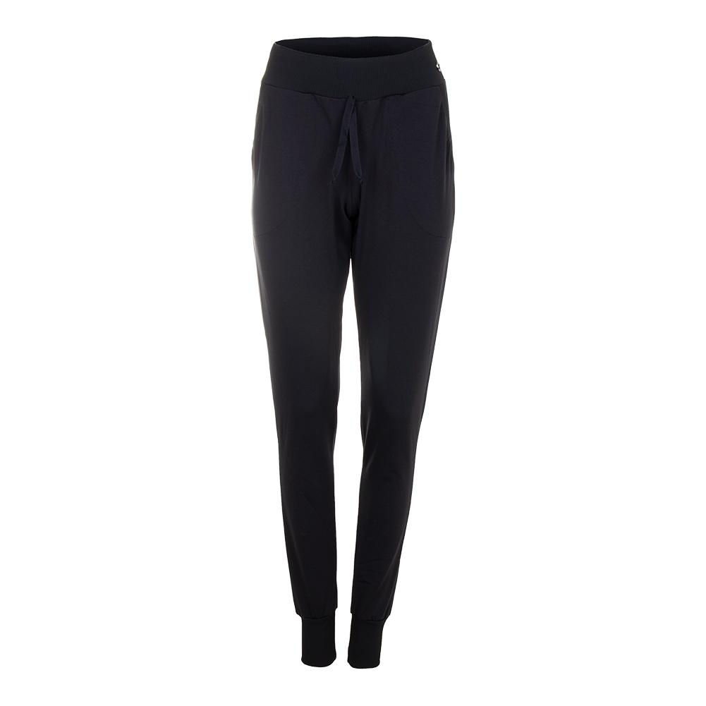 Women's Love You Tennis Jogger Black