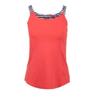 Women`s Catalina Tennis Tank Coral