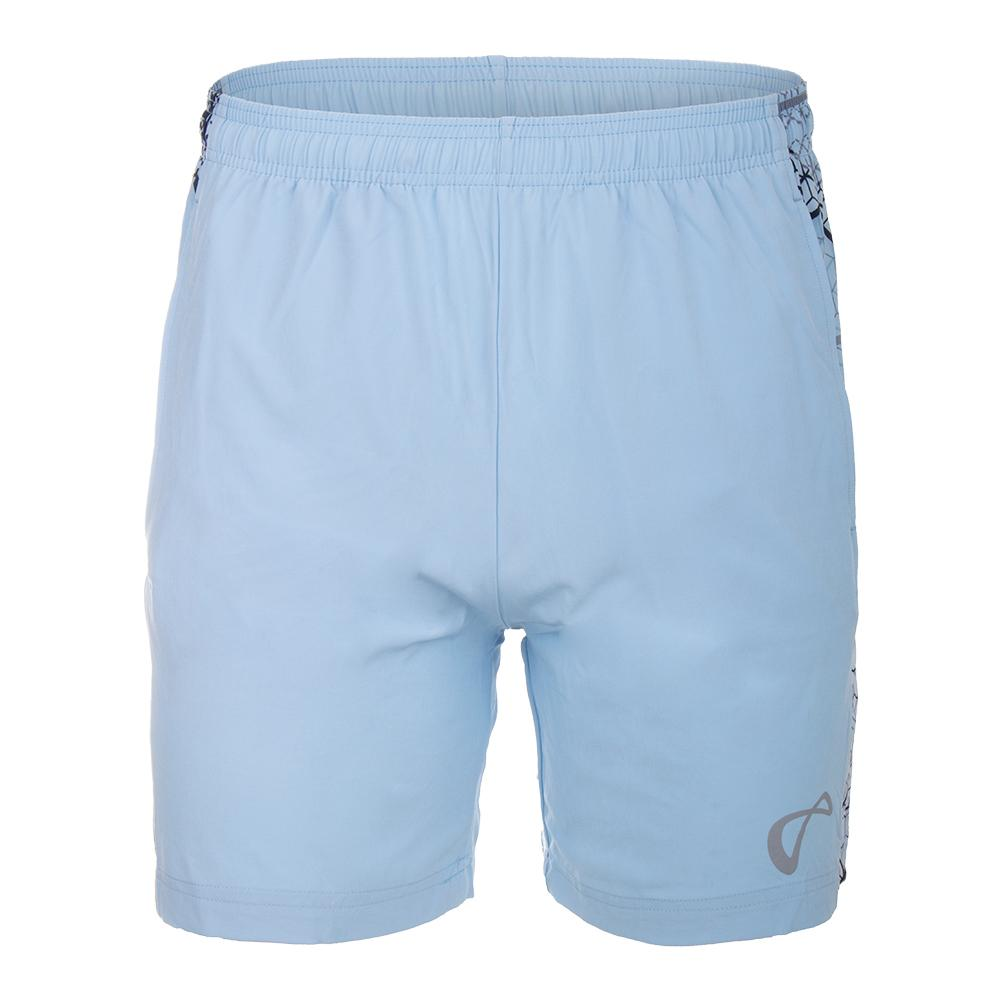 Men's Hex Woven Panel Tennis Short Arctic