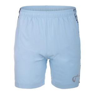 Men`s Hex Woven Panel Tennis Short Arctic