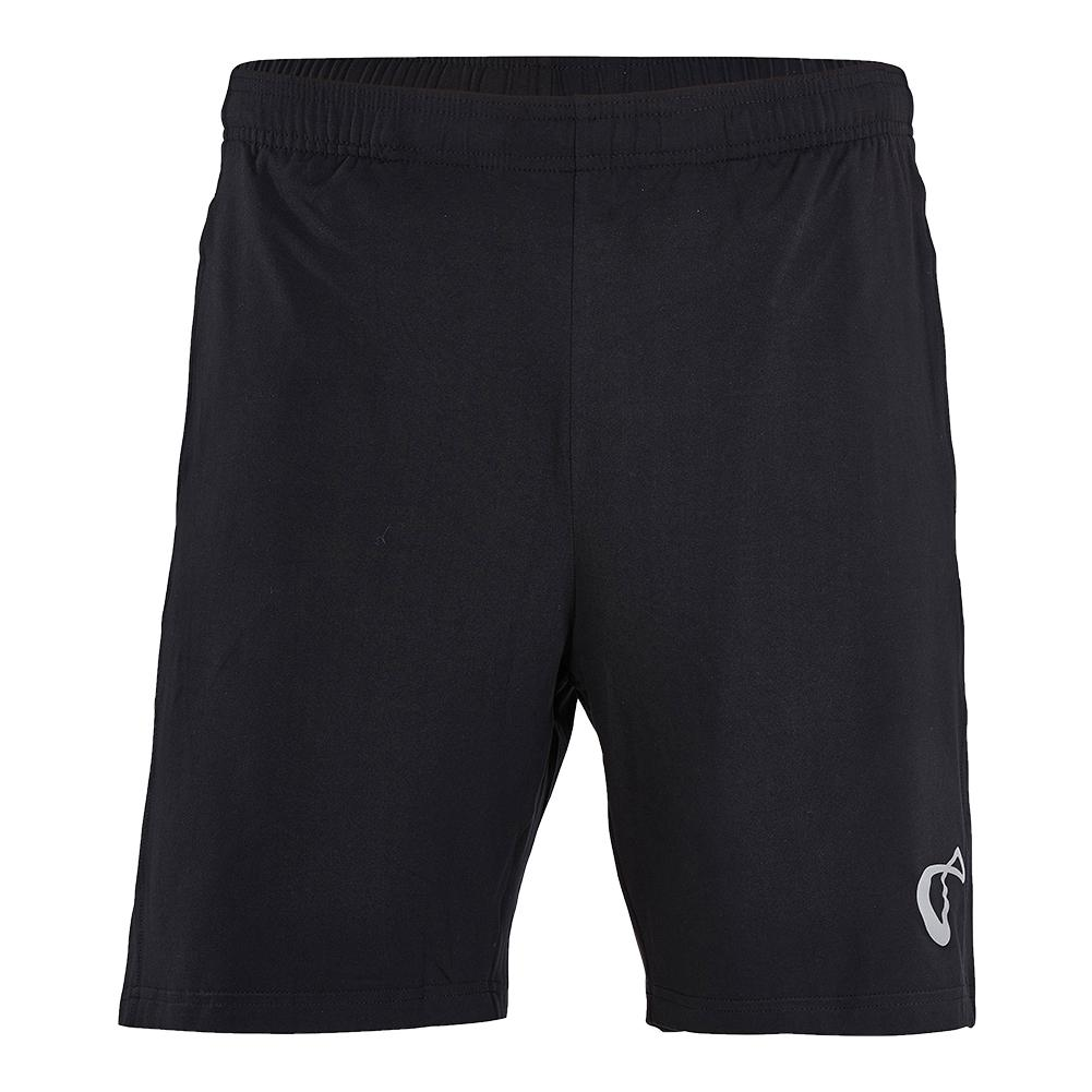 Boys ` Knit Tennis Short Black