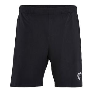 Boys` Knit Tennis Short Black
