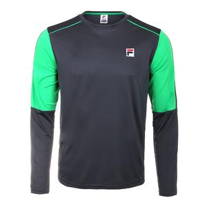 Men`s Legends Long Sleeve Tennis Crew