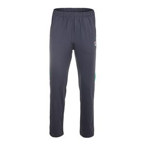 Men`s Legends Tennis Pant Ebony and Bright Green