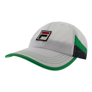 Men`s US Open Tennis Cap White and Bright Green