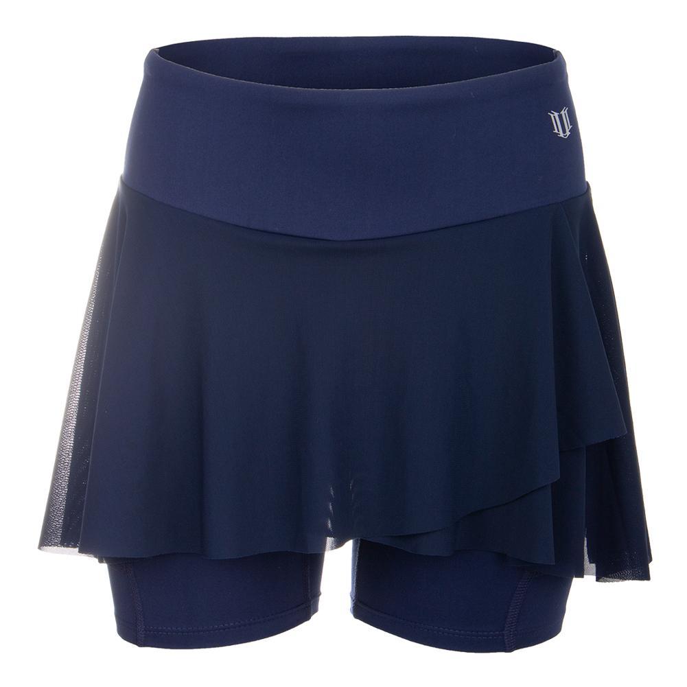 Women's Outskirt Tennis Shortie Blue Nights
