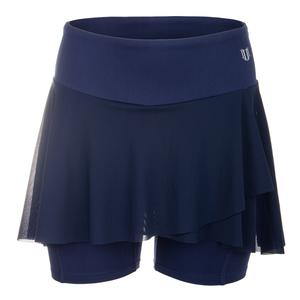 Women`s Outskirt Tennis Shortie Blue Nights