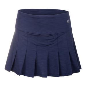 Women`s Flutter 13 Inch Tennis Skort Blue Nights