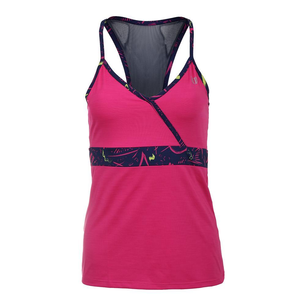 Women's Portal Tennis Tank Pink Yarrow