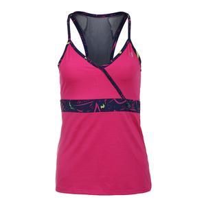 Women`s Portal Tennis Tank Pink Yarrow