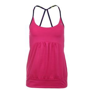 Women`s Anu Tennis Tank Pink Yarrow