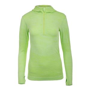 Women`s Zip Tennis Hoodie Sharp Green