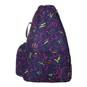 Women`s Tennis Backpack Prima Donna Print
