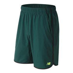 Men`s 9 Inch Tournament Tennis Short Deep Jade