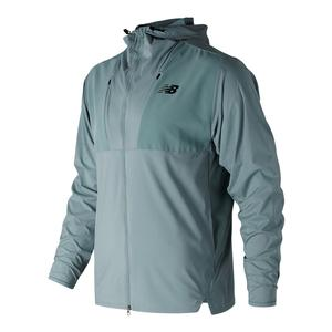 Men`s Max Intensity Tennis Jacket Smoke Blue