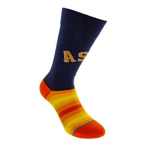 Men`s Astros Alt Jersey Socks Navy