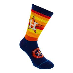 Men`s Astros Rainbow Socks