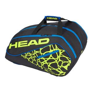 Tour Team Supercombi Pickleball Bag Black and Yellow