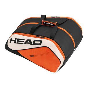 Tour Team Supercombi Pickleball Bag Black and Orange