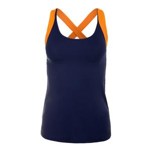 Women`s Miranda Tennis Tank Navy