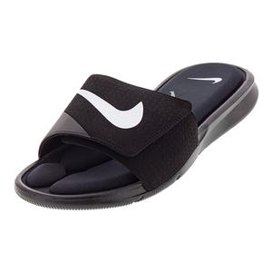 Mens Ultra Comfort Slide Sandals Black