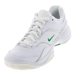Men`s Court Lite Premium Tennis Shoes Sail and Black