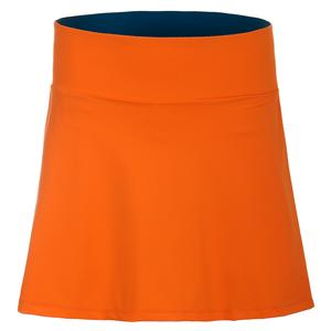 Women`s Miranda Tennis Skort Nectar and Deep Teal