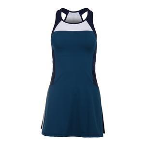 Women`s Tilda Tennis Dress Deep Teal and Navy