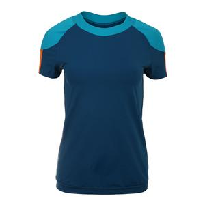 Women`s Bianca Tennis Tee Deep Teal