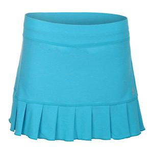 Women`s Game 14 Inch Tennis Skort Portofino Blue