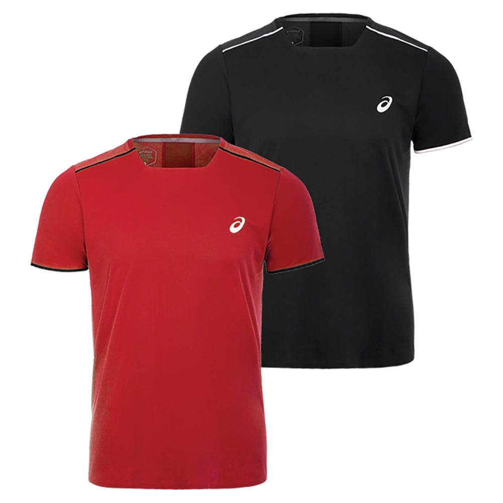 Asics Men S Gel Cool Short Sleeve Tennis Top 154401 F18 Ebay