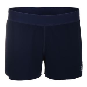 Women`s Proton Tennis Short Navy