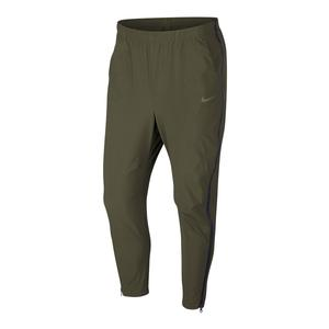 Men`s Court Flex Practice Tennis Pant Olive Canvas