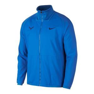 Men`s Rafa Court Tennis Jacket Signal Blue and Blue Void
