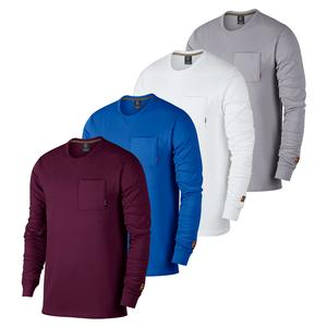 Men`s Court Heritage Long Sleeve Tennis Top