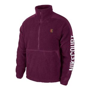 Men`s Court 1/2 Zip Fleece Tennis Top