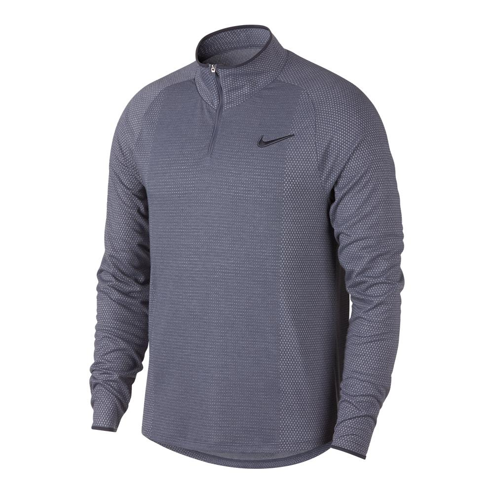 051a85aa5 ... Men`s Court Challenger 1/2 Zip Long Sleeve Tennis Top 011_LIGHT_CARBON  ...