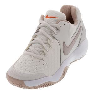 Women`s Air Zoom Resistance Tennis Shoes Phantom and Particle Beige